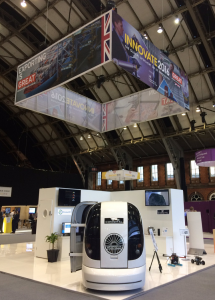 Conigital exhibition stand at Innovate UK 20164